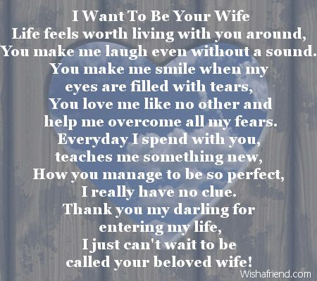 quotes about love for him i want to be your wife life feels  as the quote says description