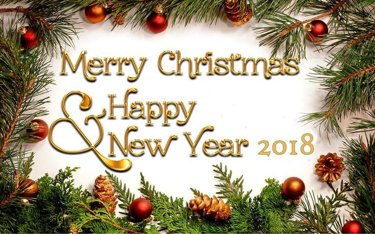 Happy New Year 2018 Quotes : Merry Christmas And Happy New Year ...