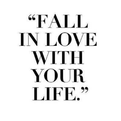 I Love Life Quotes Awesome Motivational Quotes Fall In Love With Your Life SoloQuotes