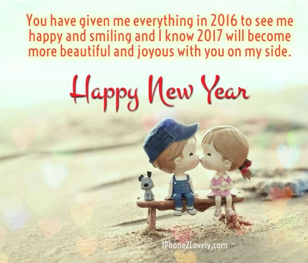 Happy New Year 2018 Quotes : Cute Romantic New Year 2017 Wishes For ...